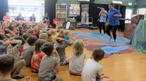 Quintilian School watching a performance by Yirra Yaakin | Bilya Kaatijin | Primary School Learning | Aboriginal & Torres Strait Islander Histories and Cultures