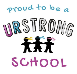 Proud to be URStrong School Badge | Quintilian School | Primary Education | Wellbeing